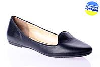 """Женские туфли """"лодочка"""" dilusso 1201ч.кож черные   весенние , фото 1"""