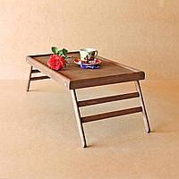 Столик-поднос для завтрака Техас Делюкс, капуччино
