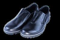 Мужские классические кожаные туфли  mida 11804ч черные   весенние , фото 1