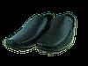 Мужские мокасины кажаные alexandro 15402 черные   весенние