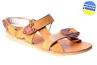 Женские сандалии kolari 2056 песочные   летние