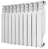 Радиатор алюминиевый Roda RAL-96 500 10 секций Белый 0302020219-100428991, КОД: 146466
