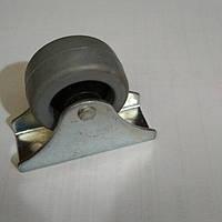 Ролик мебельный Н=42 мм резина, фото 1