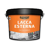 Лак фасадный LACCA ESTERNA ELEMENT DECOR 3 л