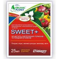 Биостимулятор интенсивности окраски плодов и ускорения созревания Sweet (Свит) 25 мл, Valagro, Италия