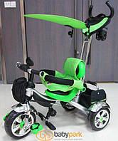 Детский трехколесный велосипед Lexus Trike KR 01. Зеленый
