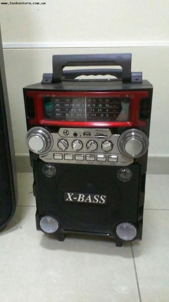Радиоприемник-акустика на аккумуляторе RX-BT08Q Bluetooth