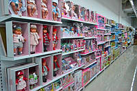 Стеллажи WIKO торговые для детских магазинов. Торговое оборудование ВИКО, фото 1