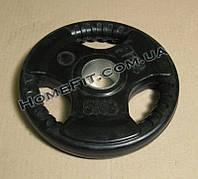 Блин обрезиненный олимпийский 5 кг, 52 мм