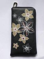 "Сумочка к телефону LGD-L-555-TZ-41 ""Бежевые цветы""."