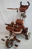 Детский трехколесный велосипед Lexus Trike KR 01. Коричневый