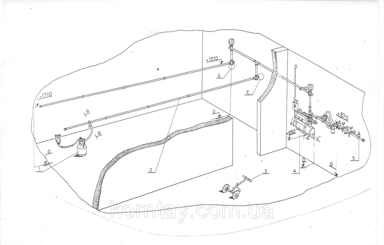 Агрегат доильный стационарный АДС-20