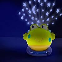 Лампа-проектор с музыкой Bright Starts Жабка