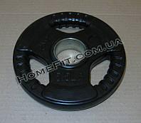 Блин обрезиненный олимпийский 2,5 кг, 52 мм