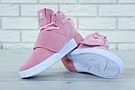 Женские кроссовки Adidas Tubular (розовые) , фото 2