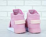 Женские кроссовки Adidas Tubular (розовые) , фото 8