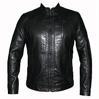 Мужские  куртки из искусственной кожи 1450 т.м.Dushi оптом недорого.