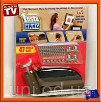 Автоматический гвоздезабиватель строительный домашний степлер Insta Hang (Инста Хэнг) купить в Украине, фото 1