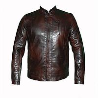 Мужские  куртки т.м.Dushi 1450k из искусственной кожи оптом недорого.