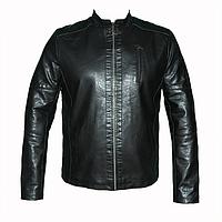 Мужские  куртки 1455 из искусственной кожи т.м.Dushi оптом недорого.