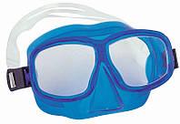 Маска для плавания BW Junior двух-линзовая Seaswіm 7-14 3 цвета