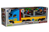 Игрушечный эвакуатор Super Truck с авто-багги