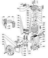 Поршневые кольца компрессора ABAC B4900
