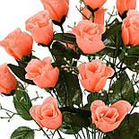 Букет бутоны роз, 52см (20 шт в уп), фото 3