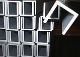 Швеллер алюминиевый 12x12, толщина стенки 2, марка алюминия АД31, АМг6, Д16, АМг5, АМг2, фото 7