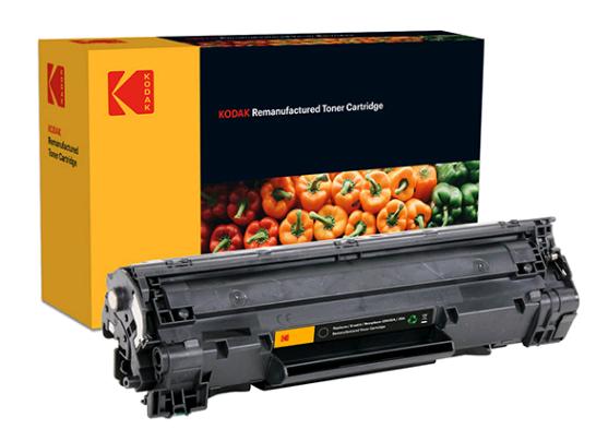 Картридж тонерный Kodak для HP LJ P2015/P2014/M2727 аналог Q7553A Black (185H755301)
