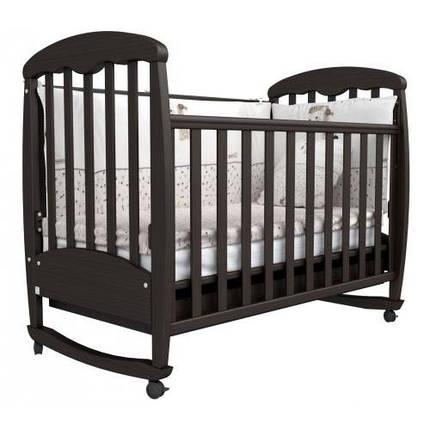 Детская кроватка Верес Соня ЛД-1 орех, фото 2