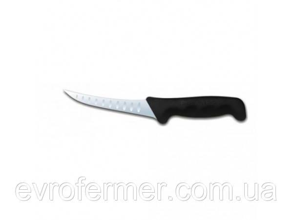Нож разделочный с насечками Polkars 125 мм