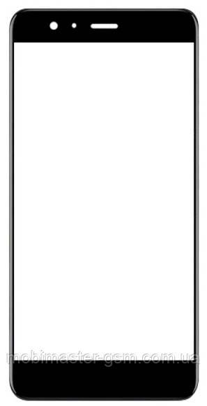 Корпусное стекло на Huawei P10 (VTR-L29) черное