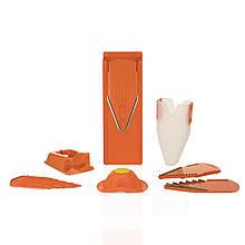 Терка Бернер Borner Оптима Профи  Сет, 8 предметов, оранжевая. Доставка бесплатно. Оригинал Германия