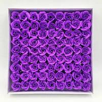 Розовое мыло Цветок Лепесток для венчания День благодарения Декоративные цветы-Фиолетовый 1TopShop