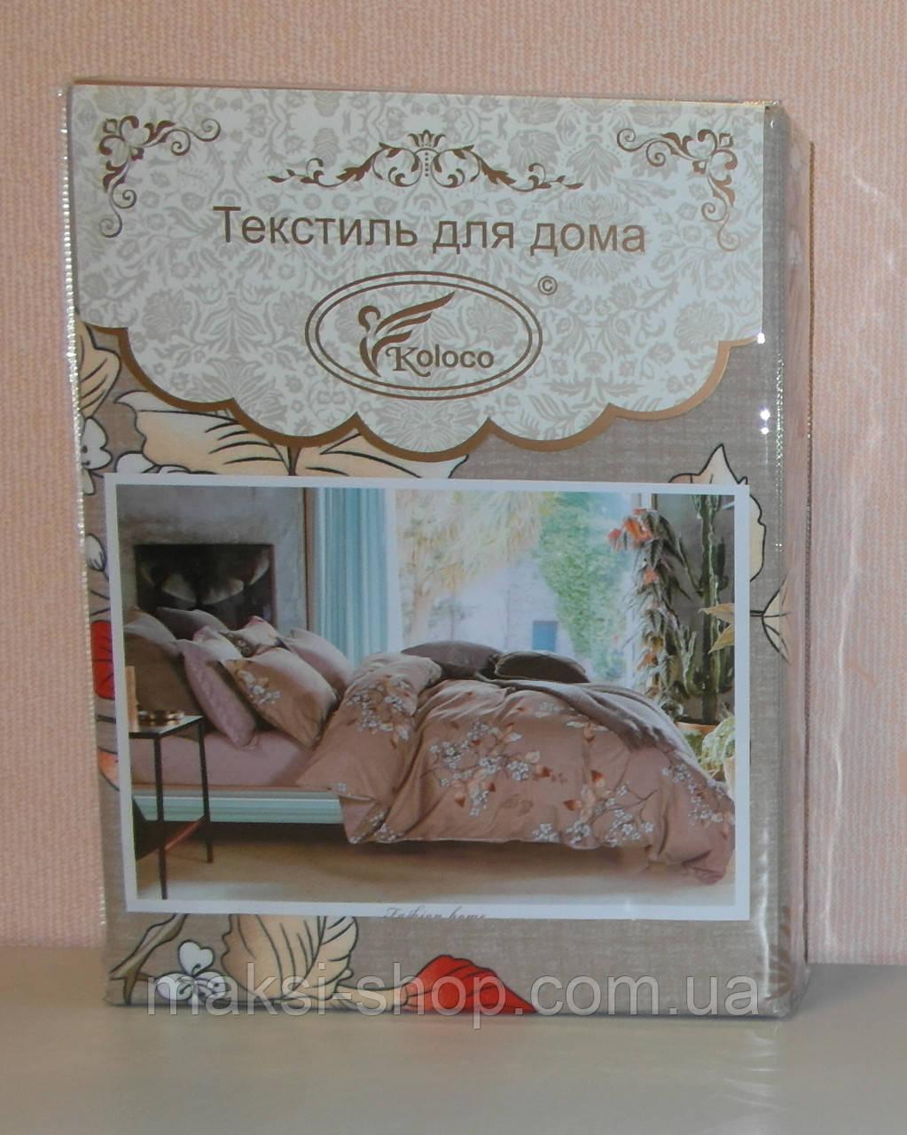 Комплект постельного белья Евро Фланель байка Турция 0001