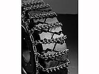 Цепи противоскольжения на погрузчик 8.15-15 (28х9-15), 7мм, Литва, с шипами, легированная сталь, комплект, фото 1