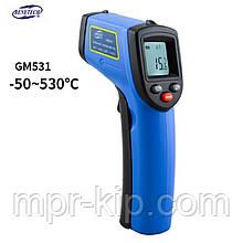 Пирометр Benetech GM531 ( -50~530℃) DS:12:1; EMS:0,1-1,00
