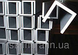 Швеллер алюминиевый 60x40, толщина стенки 2,5, марка алюминия АД31, АМг6, Д16, АМг5, АМг2, фото 6