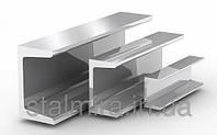 Швеллер алюминиевый 13x15, толщина стенки 1,5, марка алюминия АД31, АМг6, Д16, АМг5, АМг2