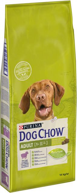 Dog Chow Adult Lamb для взрослых собак с ягненком, 14 кг