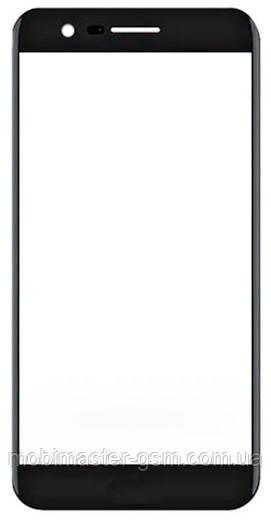Корпусное стекло на LG X240 K8 (2017) черное
