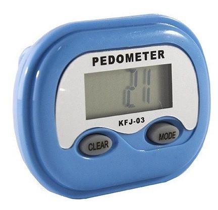 Шагомер электронный KFJ-03 с часами