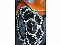 Цепи противоскольжения с шипами, соты, 7.00-12, 7х6мм, Trygg (Литва) премиум, легированная сталь, комплект, фото 1