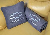 """Автомобильный плед в чехле с вышивкой логотипа """"Chevrolet"""", фото 2"""