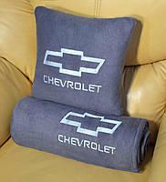 """Автомобильный плед в чехле с вышивкой логотипа """"Chevrolet"""", фото 4"""