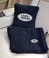 """Автомобильный плед в чехле с вышивкой логотипа """"Land Rover"""", фото 2"""