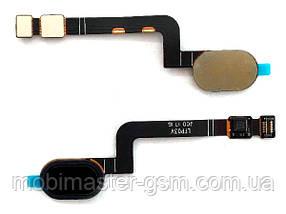 Шлейф с черной кнопкой домой Motorola XT1685 Moto G5 Plus