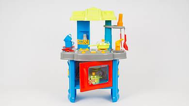 Детская кухня LIMO TOY. В наборе 15 предметов. Световые и звуковые эффекты