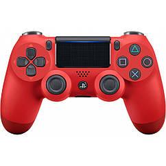 Геймпад SONY PS4 Dualshock 4 V2 Black красный